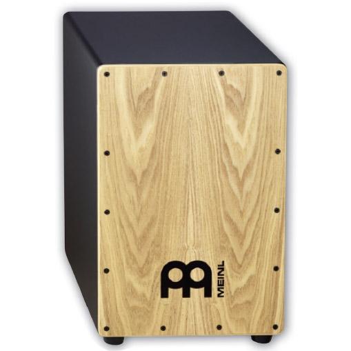 Meinl オリジナルケース付きカホン MDF Body / Ash Frontplate MCAJ100BK-AS+ (with bag)[MCAJ100BK-AS+]【ONLINE STORE】