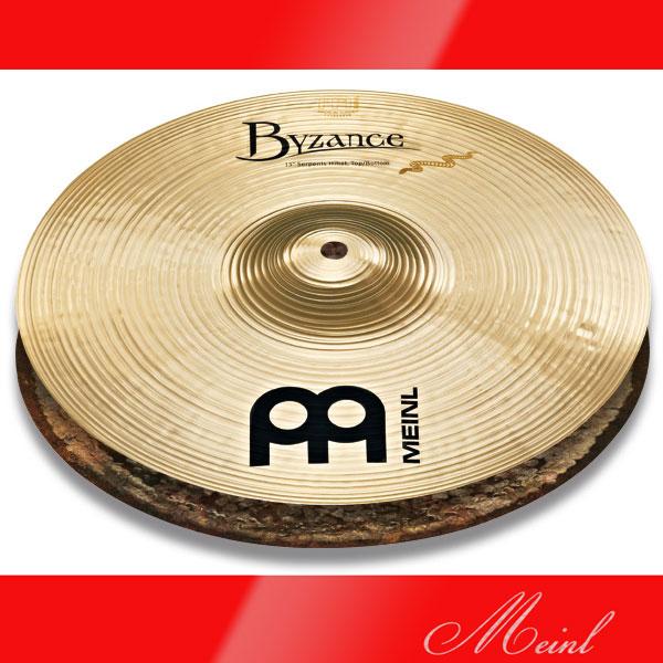 Meinl Byzance Brilliant Derek Roddy's signature cymbal Serpents Hihat B13SH-B(13