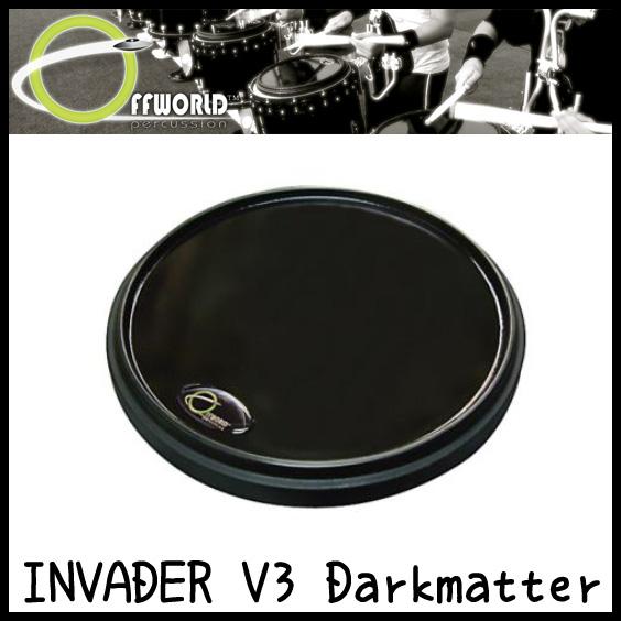 OFFWORLD Percussion INVADER V3 Darkmatter 練習用 ドラムパッド【送料無料】【sntb-u】【ご予約受付中】 【ONLINE STORE】