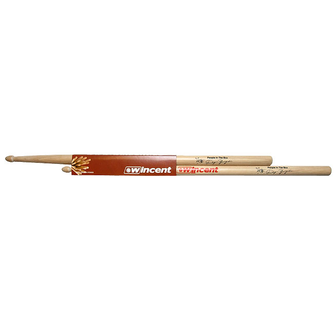 Wincent Drumsticks (Selected US Hickory) W-DYS 山口大吾(People in the Box)モデル【10セット】 【送料無料】 【smtb-u】 【ご予約受付中】【ONLINE STORE】