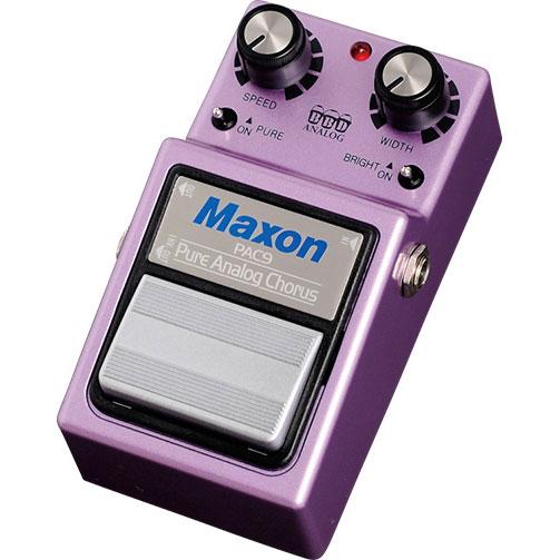 Maxon PAC9 Pure Analog Chorus 《コーラス》【送料無料】【ONLINE STORE】