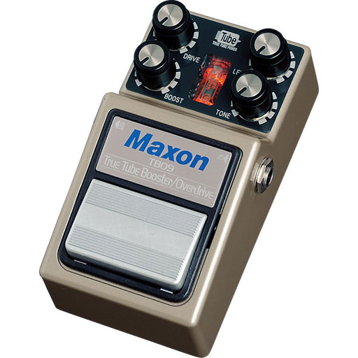 Maxon TBO9 True Tube Booster/Overdrive 《ブースター/オーバードライブ》【送料無料】【ONLINE STORE】