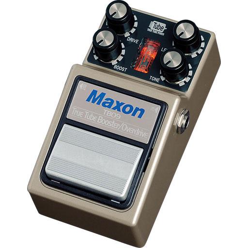 Maxon TBO9 True Tube Booster/Overdrive 《ブースター/オーバードライブ》【送料無料】【ONLINE STORE】