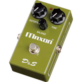 Maxon D&S Distortion & Sustainer 《ディストーション/サスティナー》【送料無料】【ONLINE STORE】