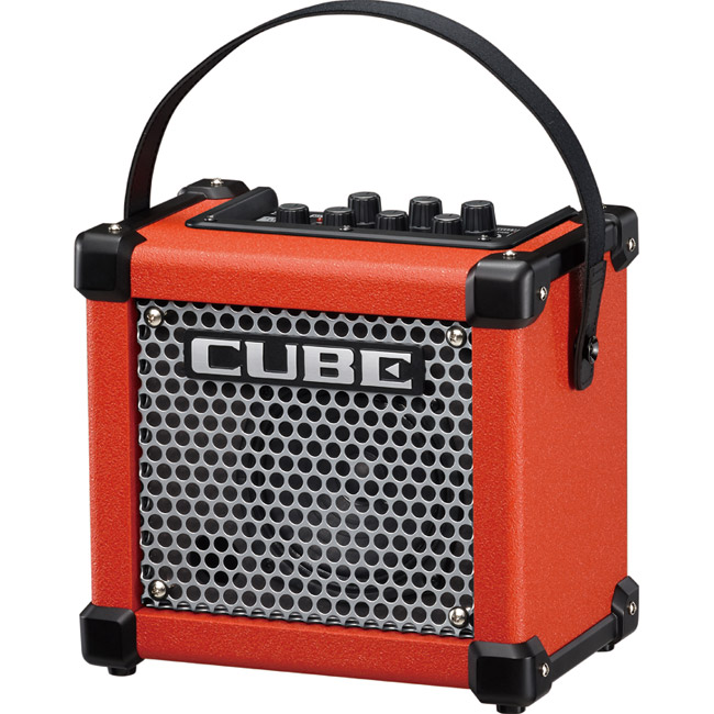 Roland MICRO CUBE GX R 3Wマイクロ・アンプ [M-CUBE GXR] (レッド) 【送料無料】【ONLINE STORE】