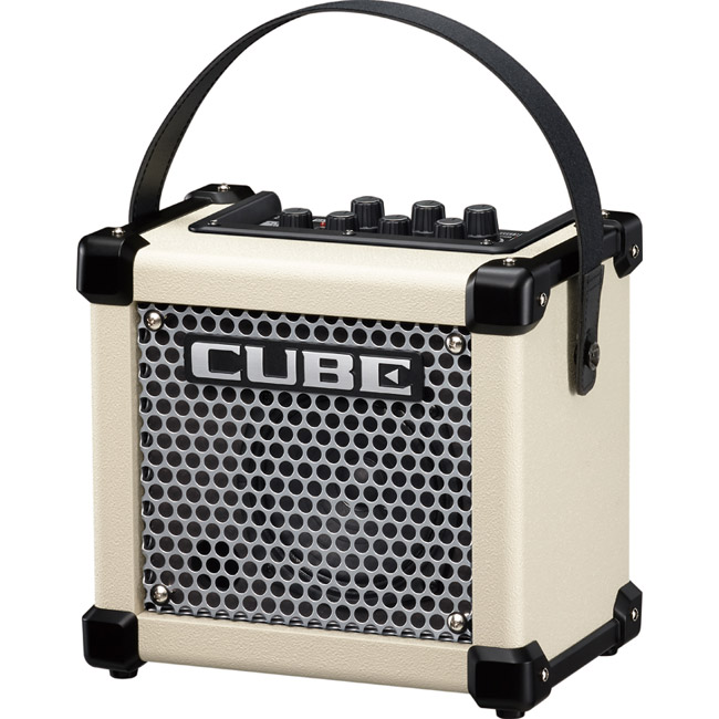 Roland MICRO CUBE GX W 3Wマイクロ・アンプ [M-CUBE GXW] (ホワイト) 【送料無料】【ONLINE STORE】