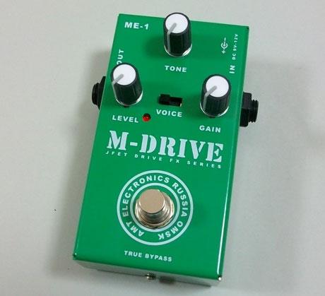 AMT M-Drive ディストーション エフェクター 【送料無料】【smtb-u】(ご予約受付中)【ONLINE STORE】