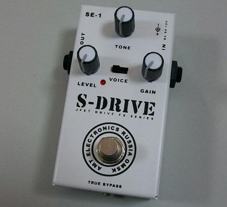 AMT S-Drive ディストーション エフェクター 【送料無料】【smtb-u】(ご予約受付中)【ONLINE STORE】