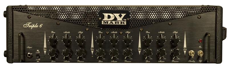 DV MARK Triple 6 DTM-TR6 トリプル6 ヘッドアンプ 【送料無料】【smtb-u】【ご予約受付中】【ONLINE STORE】