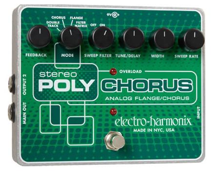 Electro Harmonix Stereo Poly Chorus ステレオ・ポリコーラス【送料無料】【ONLINE STORE】