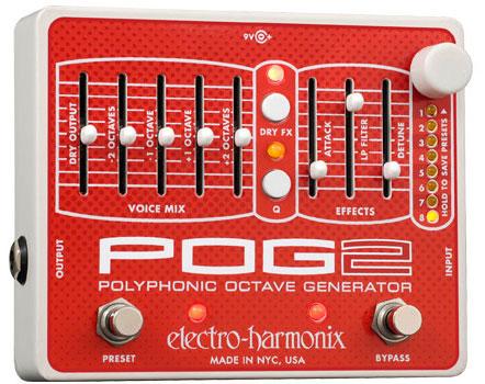 Electro Harmonix POG 2【ポリフォニック・オクターブ・ジェネレーター】【G-CLUB渋谷】