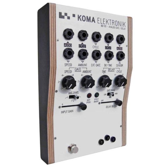 KOMA ELEKTRONIK BD101 - Analog Gate/Delay《ノイズエフェクター/アナログシンセサイザー》【送料無料】【smtb-u】【ONLINE STORE】