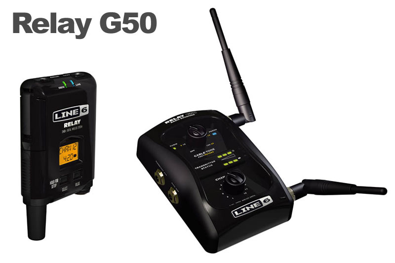 LINE6 Relay G50 12ch 2.4GHz [SRELAYG50] 《ギターワイヤレス》【送料無料】【ONLINE STORE】