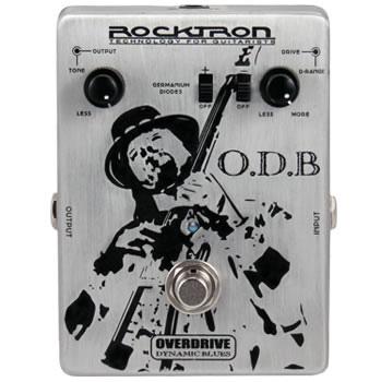 Rocktron O.D.B Overdrive Dynamic Blues ブルース・オーバードライブ エフェクター【送料無料】【smtb-u】【ONLINE STORE】