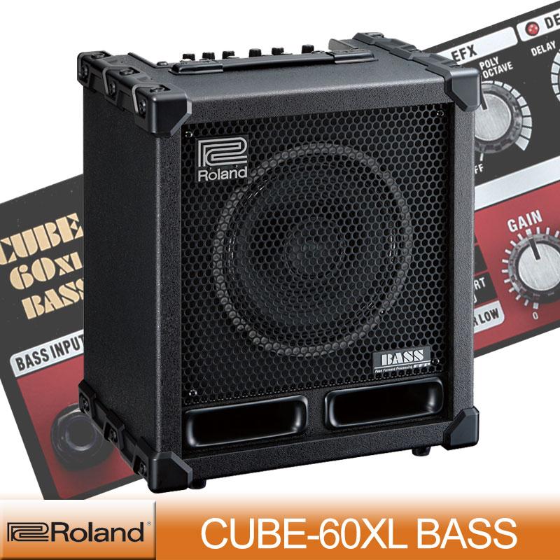 Roland CUBE-60XL CUBE-60XL BASS BASS【送料無料】 Roland【ONLINE STORE】, 内外治療院:42900da3 --- sunward.msk.ru