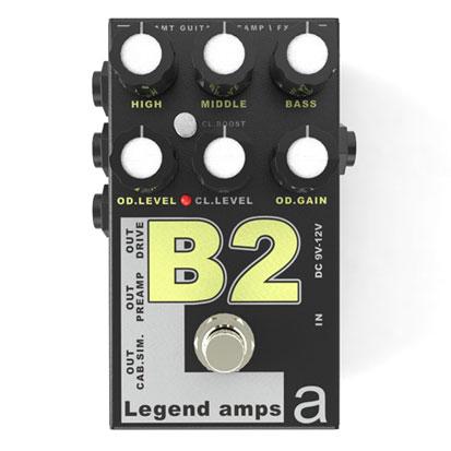 AMT Legend Amp 2 Series B-2 《アンプシミュレーター》【送料無料】(ご予約受付中)【ONLINE STORE】