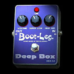 Boot-Leg Deep Box DBX-1.0《エフェクター/イコライザー/ブースター》【ESPステッカー付き】【送料無料】【smtb-u】【ONLINE STORE】