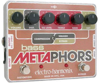 Electro Harmonix Bass Metaphors 《ベース専用プリアンプ/DI》【送料無料】【ONLINE STORE】