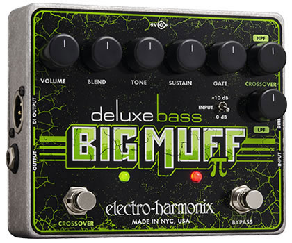 Electro Harmonix Deluxe Bass Big Muff PI《エフェクター/ベース用ディストーション》【送料無料】【G-CLUB渋谷】