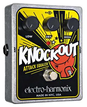 Electro Harmonix Knockout 《エフェクター/トーン・コントローラー》【送料無料】【ONLINE STORE】