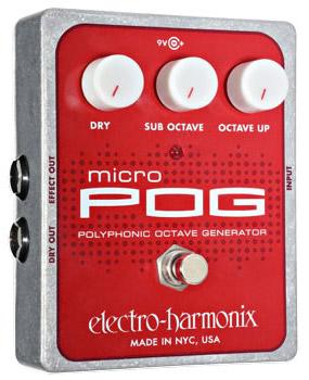 Electro Harmonix Micro POG 《エフェクター/オクターバー》【送料無料】【ONLINE STORE】