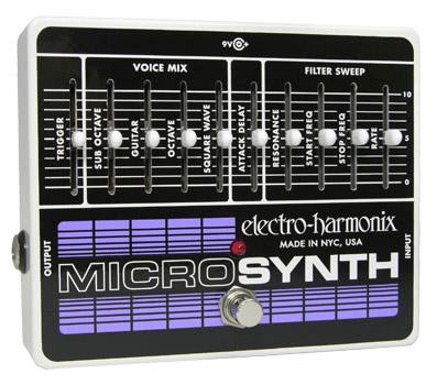 Electro Harmonix MicroSynth 《エフェクター/ギター用シンセサイザー》【送料無料】【ONLINE STORE】