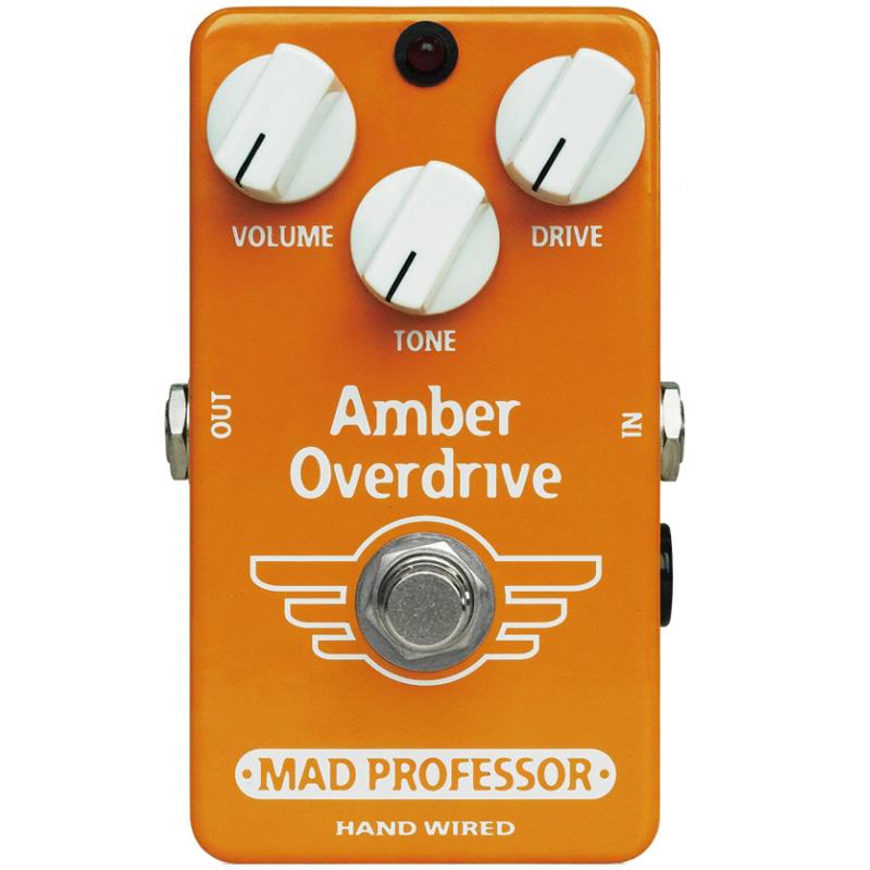 Mad Professor Amber Overdrive《エフェクター/オーバードライブ》【送料無料】【smtb-u】【ONLINE STORE】