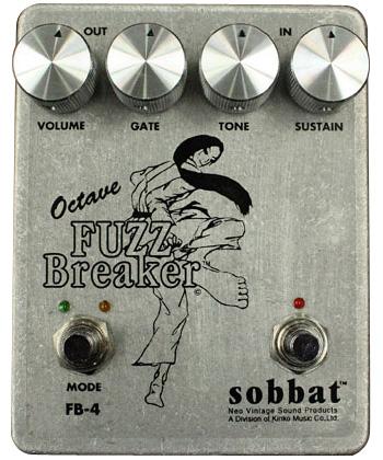 Sobbat Fuzz Breaker4《エフェクター/ファズ》【送料無料】【smtb-u】【納期未定・ご予約受付中】【ONLINE STORE】