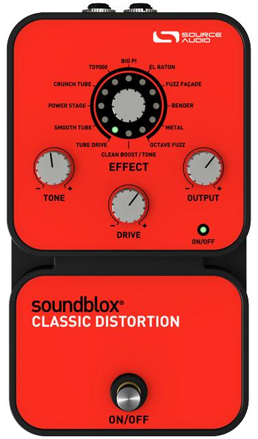 Source Audio SA124 Classic Distotion 《エフェクター/ディストーション》【送料無料】 【smtb-u】【ONLINE STORE】