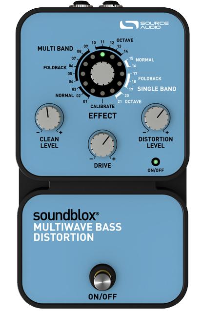 Source Audio SA125 Multiwave Bass Distortion 《エフェクター/ベース用ディストーション》【送料無料】 【smtb-u】【ONLINE STORE】