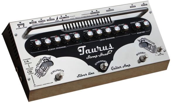 Taurus StompHead 4 SL SilverLine《ペダルサイズ・真空管ギターヘッドアンプ》【送料無料】【ONLINE STORE】