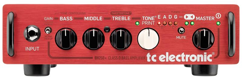 TC ELECTRONIC BH250(ベースヘッドアンプ)(送料無料)(マンスリープレゼント)【ONLINE STORE】