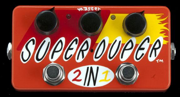 Z-VEX Super Duper 《エフェクター/ブースター》【送料無料】【ONLINE STORE】