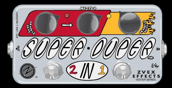 Z-VEX Vexter Series Super Duper 《エフェクター/ブースター》【送料無料】【smtb-u】【ONLINE STORE】