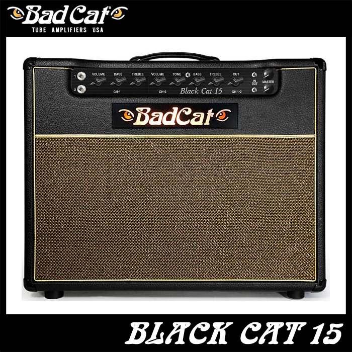 正規品販売! Bad Cat Cat Black 15 Cat 15 《ギターコンボアンプ》 Black【送料無料】【ONLINE STORE】, Daiken Web Shop:2dbba206 --- canoncity.azurewebsites.net
