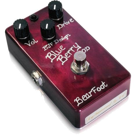Bearfoot Guitar Effects BlueBerry Bass Overdrive 《エフェクター/ベース用オーバードライブ 》【送料無料】【ONLINE STORE】