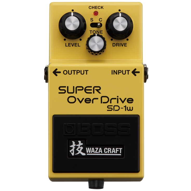 BOSS 技 Waza Craft Series SD-1W (J) SUPER OverDrive 日本製《エフェクター/オーバードライブ》【送料無料】【ONLINE STORE】