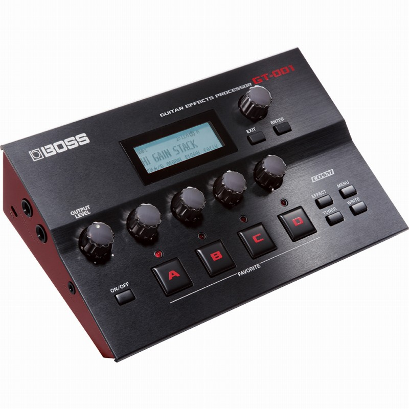 BOSS GT-001 Guitar Effects Processor 《DTM用マルチエフェクター》【送料無料】【ONLINE STORE】