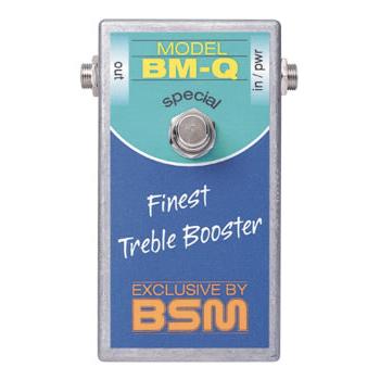 BSM BM-Q 《エフェクター/ ハイゲイン・トレブルブースター》【送料無料】【納期未定・ご予約受付中】【ONLINE STORE】