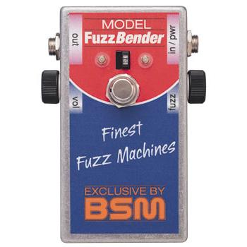 BSM Fuzz Bender 《エフェクター/ ファズ》【送料無料】【納期未定・ご予約受付中】【ONLINE STORE】
