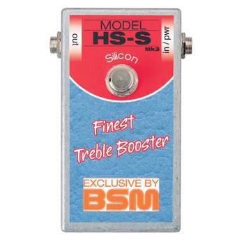 BSM HS-S 《エフェクター/ ミドルゲイン・トレブルブースター》【送料無料】【納期未定・ご予約受付中】【ONLINE STORE】
