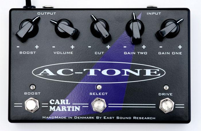 Carl Martin AC-TONE 《エフェクター/オーバードライブ/ブースター》【送料無料】【ONLINE STORE】