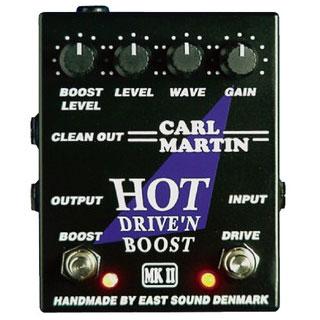 Carl Martin HOT DRIVE'N BOOST MK 2 《エフェクター/オーバードライブ》【送料無料】【ONLINE STORE】