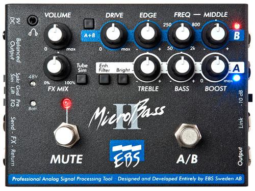 EBS MicroBass II 《エフェクター/ベース用プリアンプ/DI》【送料無料】【smtb-u】【ONLINE STORE】