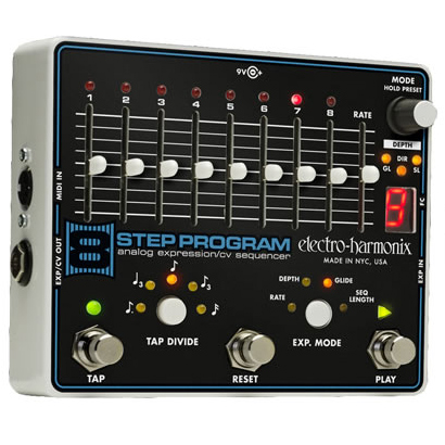 Electro Harmonix 8 Step Program 《アナログ・シーケンサー》【送料無料】【納期未定・ご予約受付中】【ONLINE STORE】