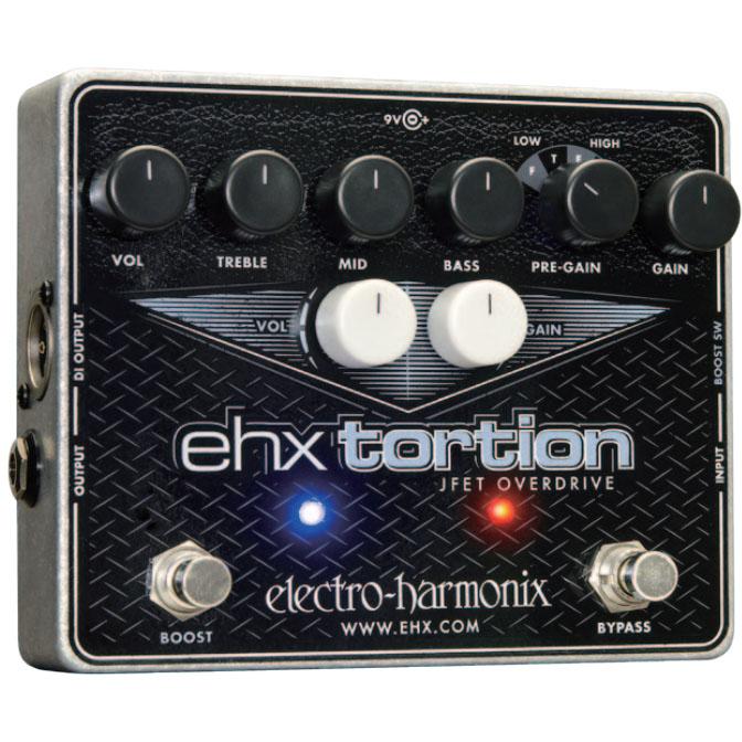 Electro Harmonix EHX Tortion 《エフェクター/オーバードライブ/ ディストーション》 【送料無料】【ONLINE STORE】