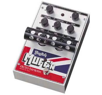 Electro Harmonix English Muff'n 《エフェクター/チューブ・ディストーション》 【送料無料】【G-CLUB渋谷】