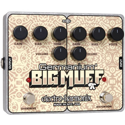 Electro Harmonix Germanium 4 Big Muff PI 《エフェクター/ディストーション&オーバードライブ》 【送料無料】【ONLINE STORE】
