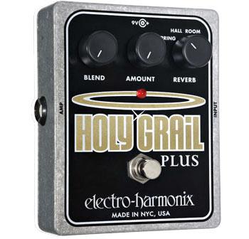 Electro Harmonix HOLY GRAIL PLUS 《エフェクター/リバーブ》 【送料無料】【G-CLUB渋谷】
