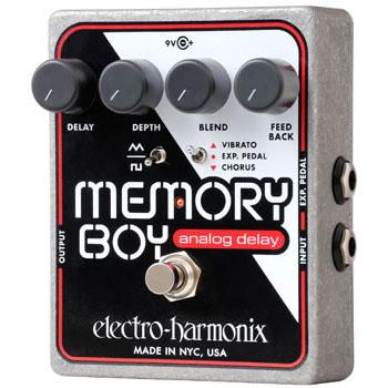 Electro-Harmonix Memory Boy Analog Delay with Chorus/Vibrato《エフェクター/ディレイ/コーラス/ビブラート》【送料無料】【G-CLUB渋谷】